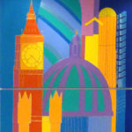 Mott Macdonald plc have purchased the 11 London Legacy paintings for their Chairman and Directors London office suite
