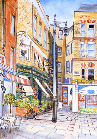 Shepherds Market London A3