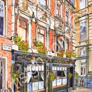 Sherlock Holmes Northhumberland St